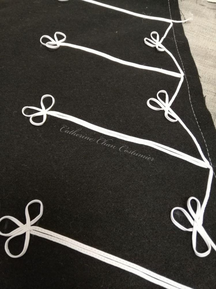 WIP - Creating the braid design